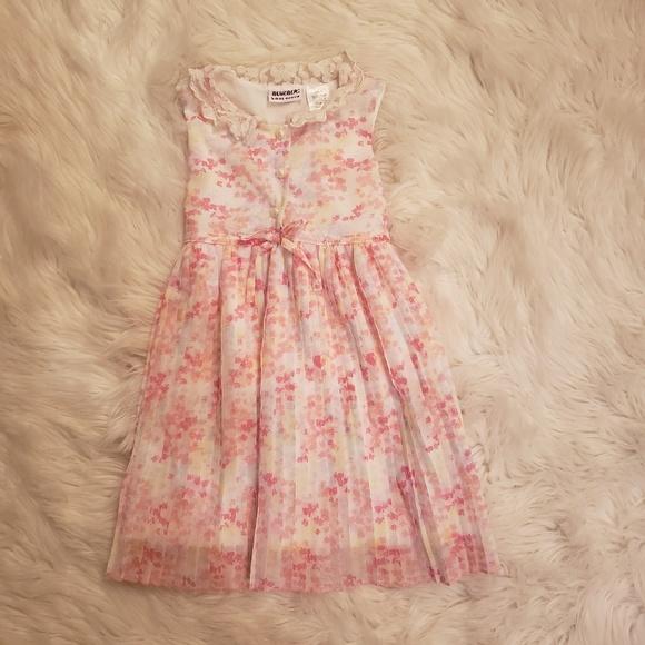 Blueberi Boulevard Other - Blueberi Boulevard pink floral kids dress
